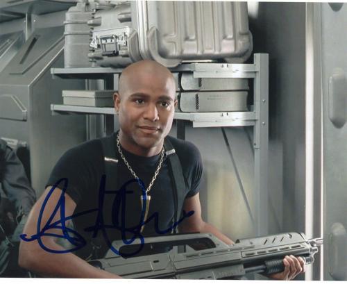 Seth Gilliam The Walking Dead Father Gabriel Stokes Signed 8x10 Photo w/COA #3