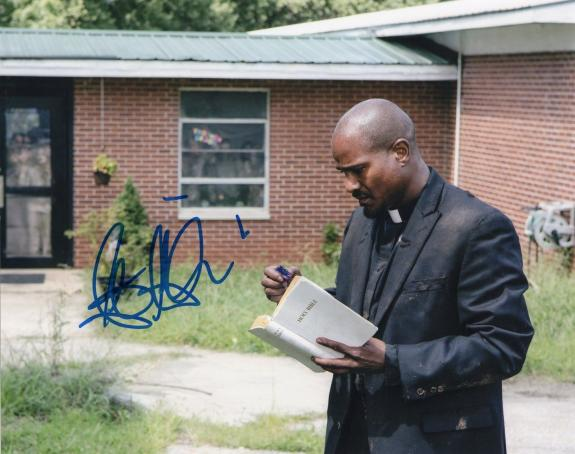 Seth Gilliam The Walking Dead Father Gabriel Stokes Signed 8x10 Photo w/COA #4