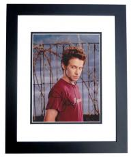 Seth Green Signed - Autographed 8x10 inch Photo BLACK CUSTOM FRAME - Guaranteed to pass PSA or JSA