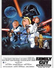 Seth Green Family Guy Blue Harvest Signed 11x14 Photo BAS #E07757