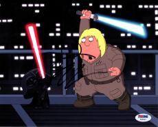 Seth Green Family Guy Star Wars Darth Vader Signed Photo Psa AFTAL