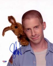 SETH GREEN SIGNED AUTOGRAPHED 8x10 PHOTO GREG THE BUNNY PSA/DNA