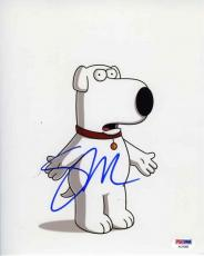 Seth MacFarlane Family Guy Autographed Signed 8x10 Photo Certified PSA/DNA COA