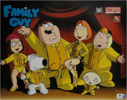 Seth MacFarlane hand Signed Autograph 11x14 Photo Family Guy Peter JSA U16473