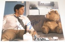 Seth Macfarlane Mark Wahlberg Signed 11x14 Photo Ted Authentic Autograph Coa A