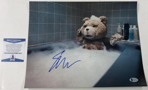 Seth Macfarlane Signed 11x14 Photo Authentic Autograph Ted Beckett Coa