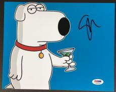 Seth Macfarlane Signed 8x10 Photo Autograph Psa Dna Coa Family Guy Brian