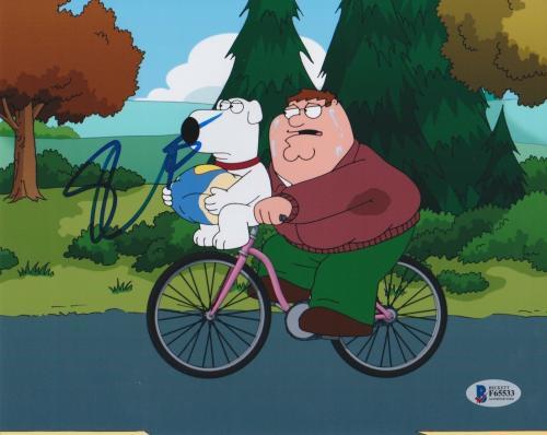 Seth Macfarlane Signed 8x10 Photo Family Guy Beckett Bas Autograph Auto Coa B