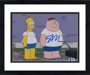 Seth Macfarlane Signed 8x10 Photo Family Guy Beckett Bas Autograph Auto Coa H