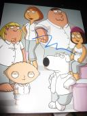 SETH MACFARLANE SIGNED 8x10 PHOTO FAMILY GUY PORTRAIT SHOT RARE PROMO COA NY X5