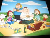 SETH MACFARLANE SIGNED 8x10 PHOTO FAMILY GUY PORTRAIT SHOT RARE PROMO COA NY X6