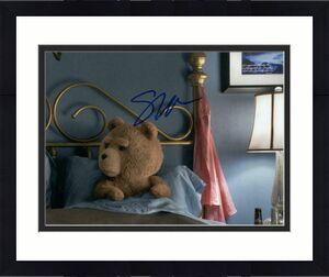 Seth Macfarlane Signed Autograph 8x10 Photo - Family Guy Creator, Ted, Rare!