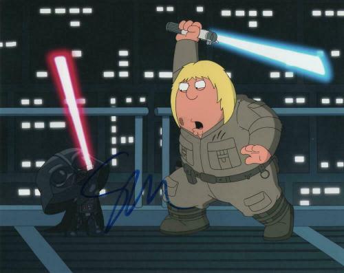 Seth Macfarlane Signed Autograph 8x10 Photo - Family Guy, Star Wars Parody, Rare
