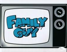Seth MacFarlane Signed Autographed 8X10 Photo Family Guy TV Set Logo JSA S71553