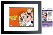 Seth Macfarlane Signed - Autographed FAMILY GUY Creator 11x14 inch Photo BLACK CUSTOM FRAME - JSA Certificate of Authenticity - JSA Certificate of Authenticity