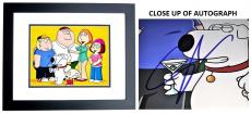 Seth Macfarlane Signed - Autographed Family Guy Creator and Voice Actor 11x14 inch Photo BLACK CUSTOM FRAME - Guaranteed to pass PSA/DNA or JSA
