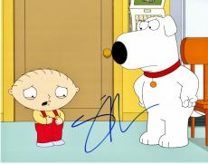Seth Macfarlane Signed - Autographed Family Guy Creator - Brian and Stewie Griffin Voice 11x14 inch Photo - Guaranteed to pass PSA/DNA or JSA