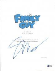 Seth MacFarlane Signed Autographed FAMILY GUY Pilot Episode Script BAS COA