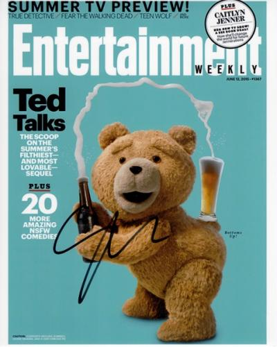 Seth Macfarlane Signed - Autographed TED 8x10 inch Photo - Guaranteed to pass PSA or JSA