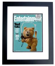 Seth Macfarlane Signed - Autographed TED 8x10 inch Photo BLACK CUSTOM FRAME - Guaranteed to pass PSA or JSA