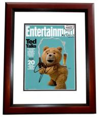 Seth Macfarlane Signed - Autographed TED 8x10 inch Photo MAHOGANY CUSTOM FRAME - Guaranteed to pass PSA or JSA