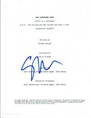 Seth MacFarlane Signed Autographed THE CLEVELAND SHOW Episode Script COA