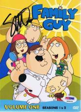 Seth Macfarlane Signed Family Guy Season 1 & 2 DVD Set PSA/DNA