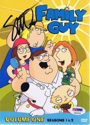 Seth Macfarlane Signed Family Guy Season 1 & 2 DVD Set PSA/DNA