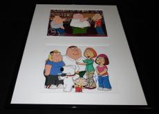 Seth MacFarlane Signed Framed 16x20 Photo Set JSA Family Guy creator w/ cast