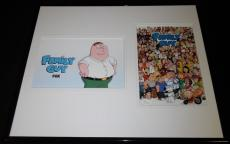 Seth MacFarlane Signed Framed 16x20 Photo Set JSA Family Guy Peter Griffin+cast