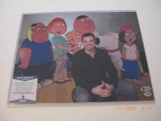 Seth Macfarlane Ted 2,family Guy Pic 3 Beckett/coa Signed 11x14 Photo