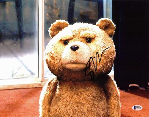 Seth MacFarlane Ted Signed 11x14 Photo Autographed BAS #D05735
