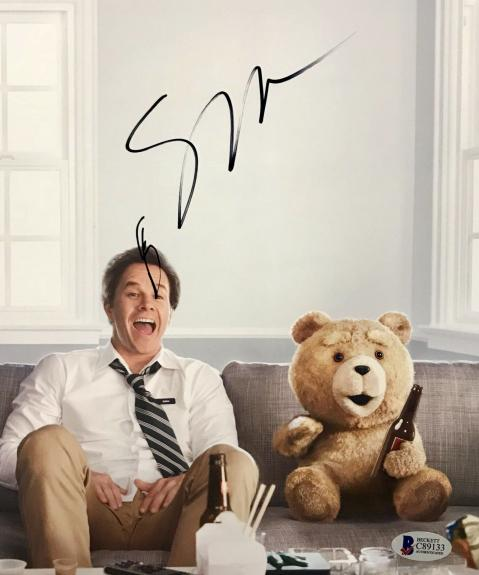 Seth MacFarlane (Ted) Signed 8x10 Photo Beckett BAS