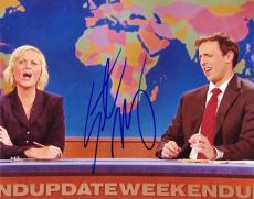 SETH MEYERS  SATURDAY NIGHT LIVE WEEKEND UPDATE   SIGNED 8x10