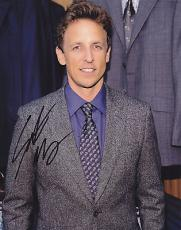 Seth Meyers Signed 8x10 Photo w/coa SNL Saturday Live