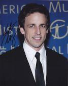 Seth Meyers Signed 8x10 Photo w/coa SNL Saturday Live A