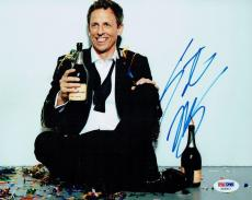 Seth Meyers Signed Authentic Autographed 8x10 Photo PSA/DNA #AB35612