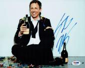 Seth Meyers Signed Authentic Autographed 8x10 Photo PSA/DNA #AB35612
