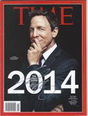 Seth Meyers Signed Autographed Time Magazine 2014 Late Night With Seth Rare