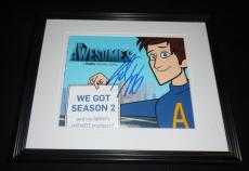 Seth Meyers Signed Framed 8x10 Photo AW The Awesomes SNL B