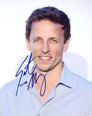 SETH MEYERS signed *SATURDAY NIGHT LIVE* 8x10 Photo Weekend Update W/COA