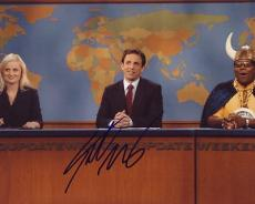 Seth Meyers signed *Saturday Night Live* 8X10 Weekend Update Anchor W/COA #1