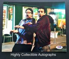 Seth Rogan & Jay Baruchel Signed 8x10 Photo Psa Dna Coa This Is The End Cast