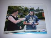 Danny Mcbride,bill Hader Hotrod,actors Psa/dna Signed 8x10 Photo