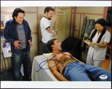 Seth Rogen 40 Year Old Virgin Signed 11x14 Photo Psa/dna #t50663