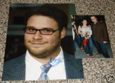 Seth Rogen Autographed 8x10 Photo (w/ Proof Signing!)