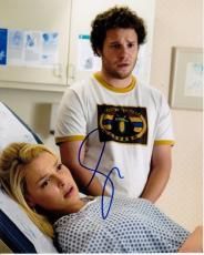 Seth Rogen Signed - Autographed Knocked Up 8x10 Photo