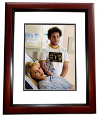 Seth Rogen Signed - Autographed Knocked Up 8x10 Photo MAHOGANY CUSTOM FRAME