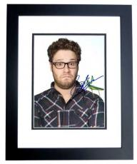 Seth Rogen Signed - Autographed KUNG FU PANDA 8x10 Photo BLACK CUSTOM FRAME