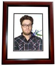 Seth Rogen Autographed KUNG FU PANDA 8x10 Photo MAHOGANY CUSTOM FRAME